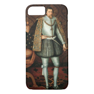 King James I of England (1566-1625) (oil on canvas iPhone 8/7 Case