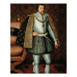 King James I of England (1566-1625) (oil on canvas Print