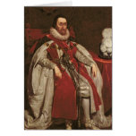 King James I of England and VI of Scotland, 1621 Cards