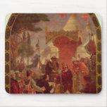 King John Granting the Magna Carta in 1215, 1900 Mouse Pad