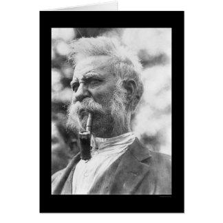King John, Gypsy Leader 1924 Card
