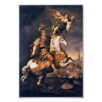 King John III Sobieski,  Battle of Vienna Poster