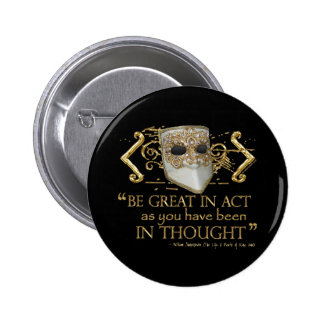 King John Quote (Gold Edition) Button