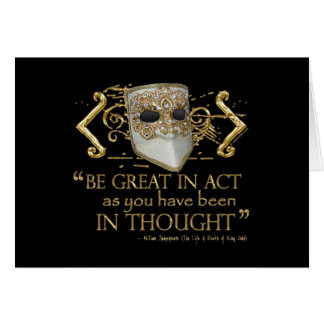 King John Quote (Gold Edition) Greeting Cards