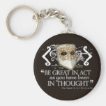 King John Quote Key Chains