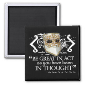 King John Quote Magnet