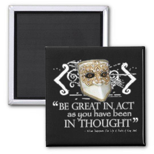 King John Quote Magnet