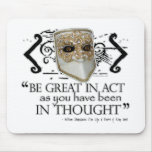 King John Quote Mouse Pad