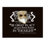 King John Quote Postcard