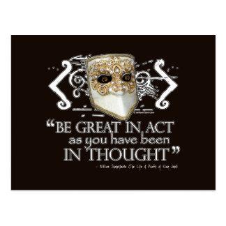 King John Quote Postcards