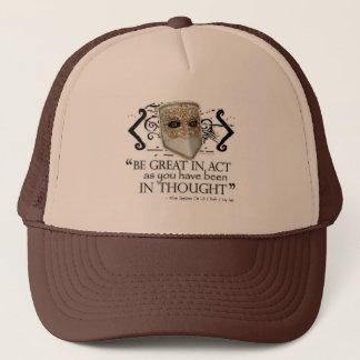 King John Quote Trucker Hat