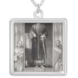 King John Silver Plated Necklace