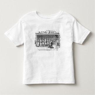 King John surrenders his crown Toddler T-shirt