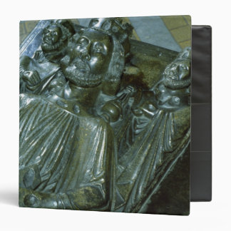 King John's Tomb with two miniature figures Binder