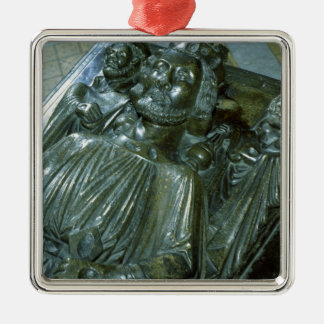 King John's Tomb with two miniature figures Metal Ornament