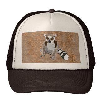 King Julian Copper Damask Lid Trucker Hat