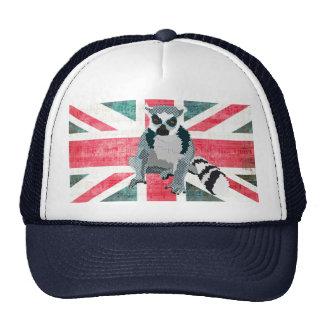 King Julian Flag Lid Trucker Hat