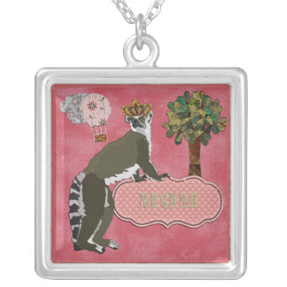 King Julian Mom's Pink  Necklace