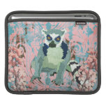 King Jullian Cherry Blossom Pink Damask Grunge iPa Sleeves For iPads