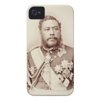 King Kalakaua (1836-91), late c19th (sepia photo) iPhone 4 Cover