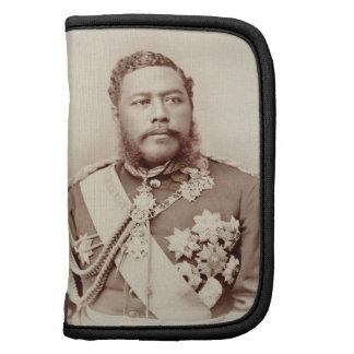King Kalakaua (1836-91), late c19th (sepia photo) Planner