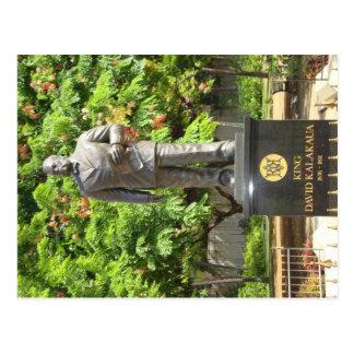 King Kalakaua Statue, Honolulu, HI Postcard
