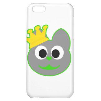 King Kat Green - Gray iPhone 5C Cases