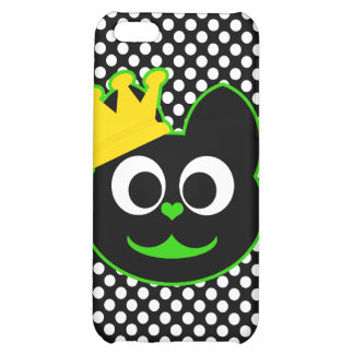 King Kat Green iPhone 5C Cases