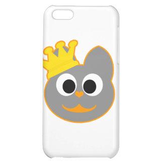 King Kat Orange - Gray iPhone 5C Case
