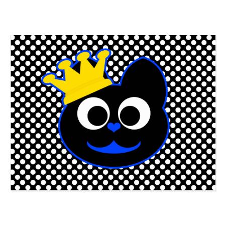 King Kat Postcard