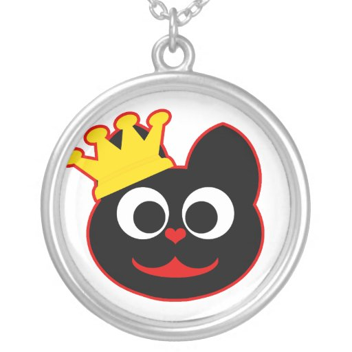 King Kat Red Custom Necklace