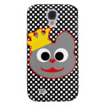 King Kat Red - Gray Galaxy S4 Cover