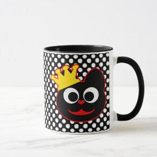 King Kat Red Mug