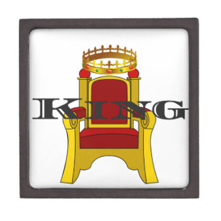 King Keepsake Box