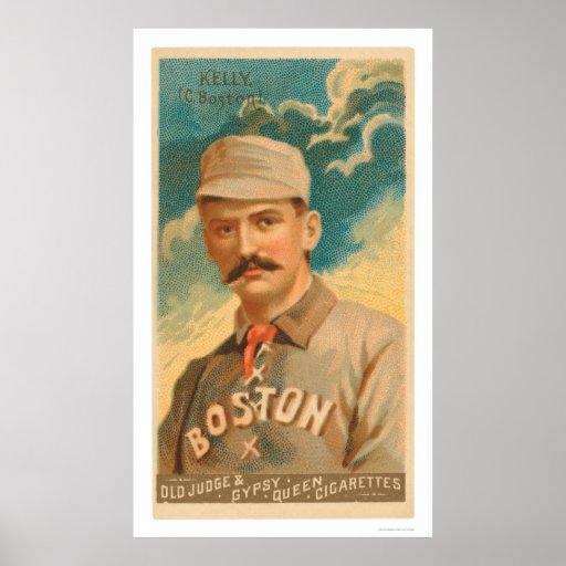 King Kelly Baseball Card 1888 Print