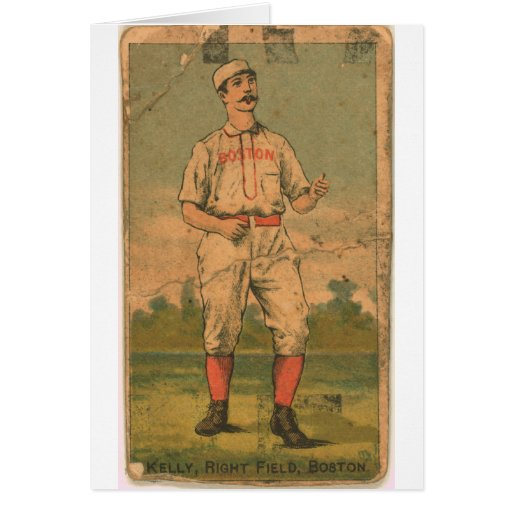 King Kelly, Boston Beaneaters Greeting Card