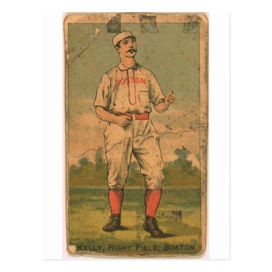 King Kelly, Boston Beaneaters Postcard