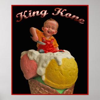 King Kone Vintage Poster Print