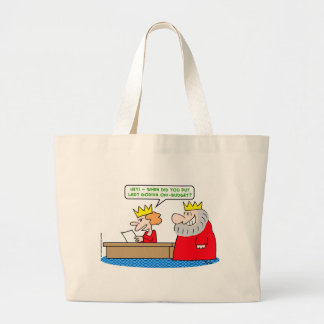 king lady godiva off-budget canvas bags
