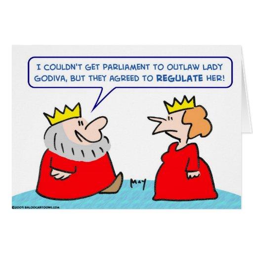 king lady godiva regulate outlaw card