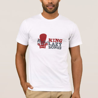 King Lazy Bones Fitted T-Shirt