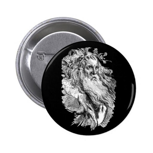 King Lear 2 Inch Round Button