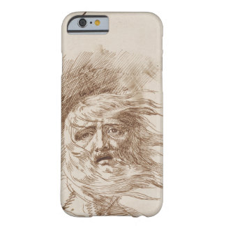King Lear in the Storm (pen and bistre ink on pape Barely There iPhone 6 Case