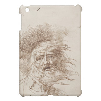 King Lear in the Storm (pen and bistre ink on pape iPad Mini Covers