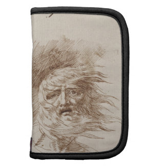 King Lear in the Storm (pen and bistre ink on pape Organizers