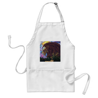 King Lion and Cubs Standard Apron