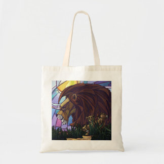 King Lion and Cubs Tote Bag