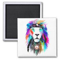 King Lion Aquarius Magnet