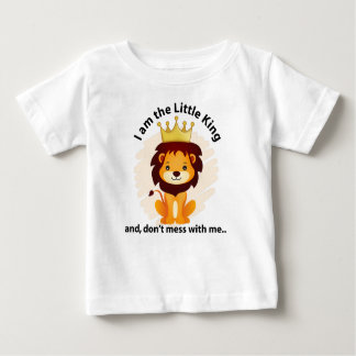 King lion baby fine jersy baby T-Shirt