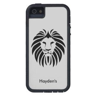 King Lion Face Jungle Animal Optional Custom Name iPhone 5 Covers